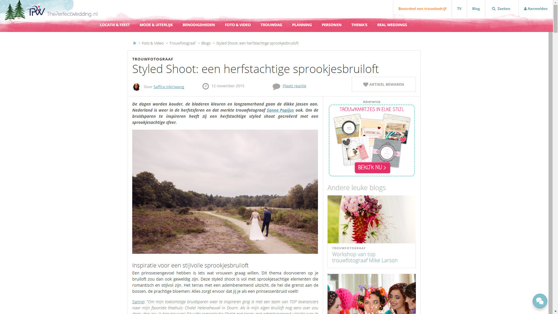PerfectWedding_Sprookjesbruiloft