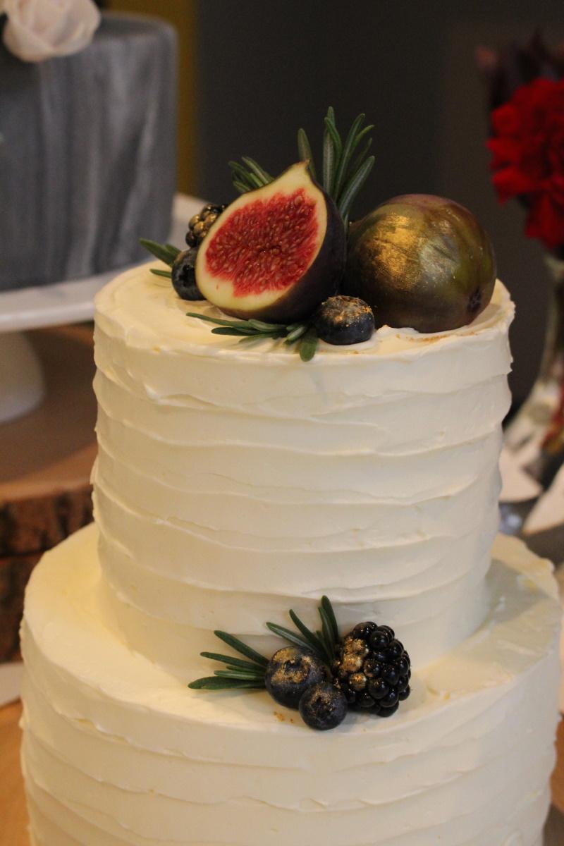 10. Creme bruidstaart met fruit