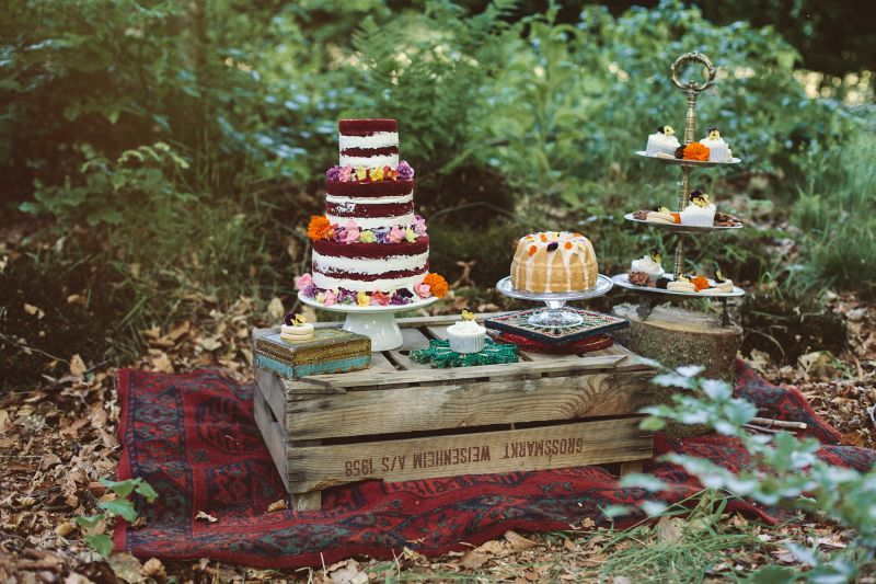 11.1 Boho in het bos sweet table_1