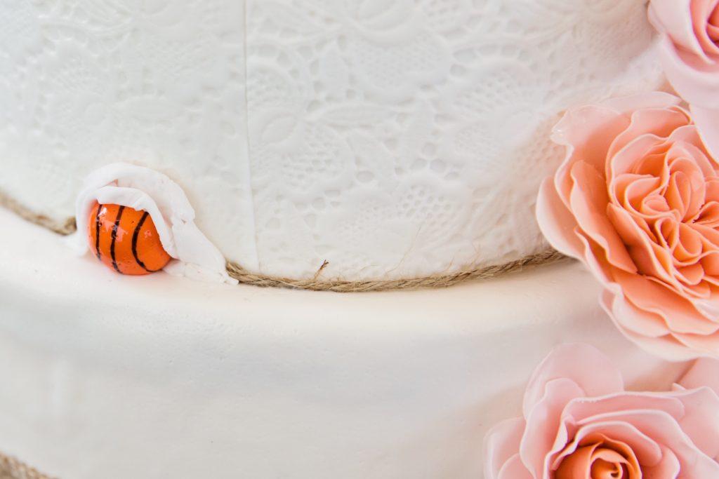 Basketbal bruidstaart